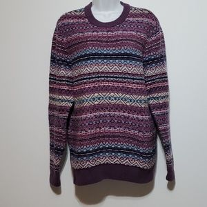 Abercrombie & Fitch purple inside out Sweater